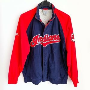 Apex One MLB Cleveland Indians Windbreaker Jacket